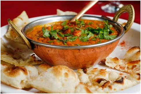 Indian Food in Foreign Land